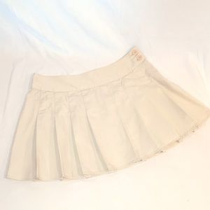 GAP Jeans Khaki School Uniform Style Skirt!